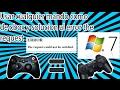 COMO CONECTAR UN MANDO DE PS3 A PC CON MOTIONINJOY WINDOWS 7[2017 SOLUCION a The request could not