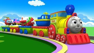 Toy Factory - Cartoon Cartoon - Kids Videos for Kids - Trains for Kids - Train Cartoon - Cars - Toys
