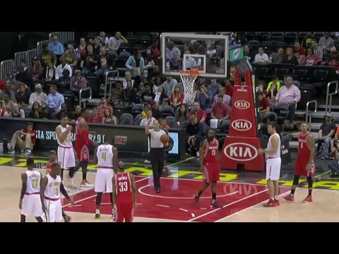 Houston Rockets vs Atlanta Hawks | March 19, 2016 | NBA 2015-16 Season