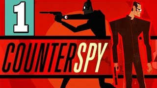 "CounterSpy: Gameplay Walkthrough Part 1 Mission ATOMIGRAD [HD] ""Counterspy PS4 PS3"""