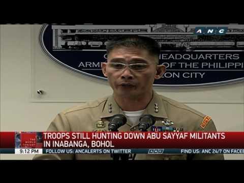 Gov't troops still hunting down Abu Sayyaf in Bohol