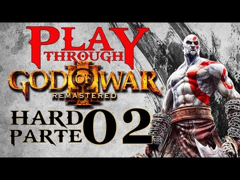 God of War 3 Remasterizado PS4 Hard Parte 2 Bafo de Touro