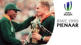 Nelson Mandela & Francois Pienaar moment at RWC 1995
