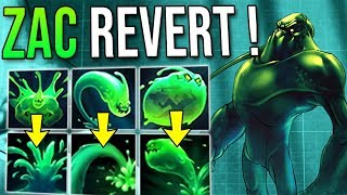 ZAC GETS REVERTED ? WHAT ? OLD ULT NEW ZAC AP TANK GAMEPLAY ! 4 BOUNCE ULT IS BACK AND ITS INSANE !