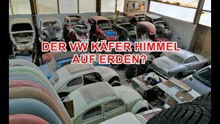 DIE HEILIGEN VW KÄFER HALLEN? | Low Budget Käfer Arbeiten.