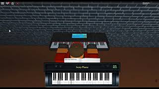 Elite Syncopations by: Scott Joplin on a ROBLOX piano.