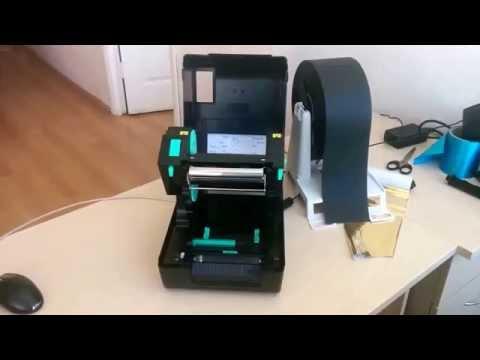 Принтер TSC ритуальный настройка