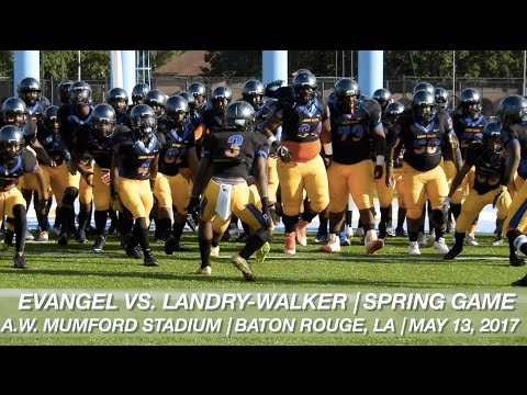 Defending Champs Landry-Walker (5A) & Evangel (Div. 1) Clash in Spring Game