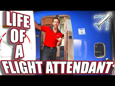 THE LIFE OF A FLIGHT ATTENDANT Ep.9 | HOLIDAY TRAVEL INSANITY VLOGMAS