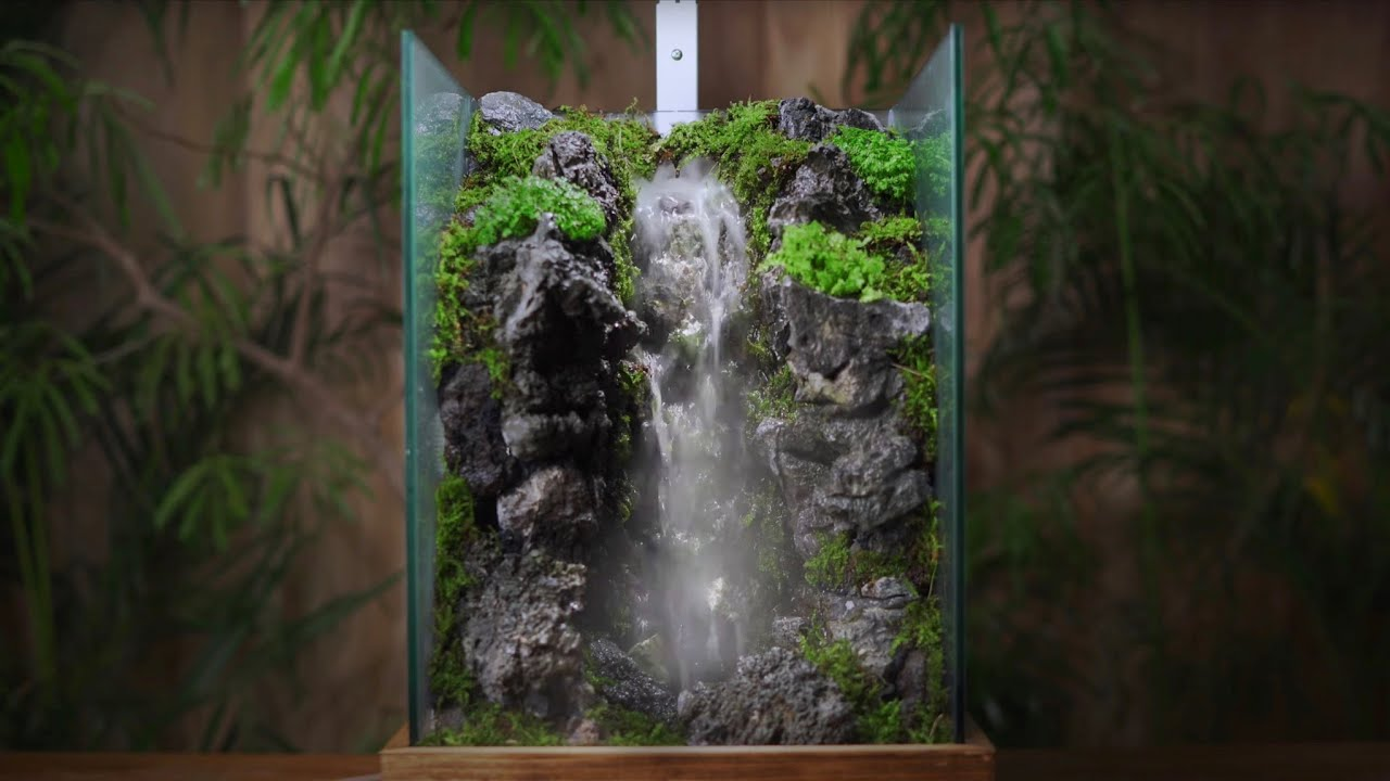 Realistic Waterfall Making
