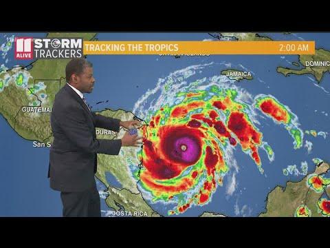 Hurricane Iota, Weakening But Dangerous, Slams An Already ...