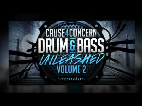 Cause4Concern 'Drum & Bass Unleashed' Vol 2 - DnB Loops & Samples - By Loopmasters