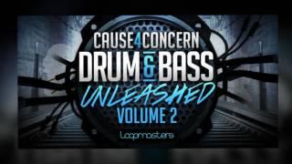 Cause4Concern 'Drum Bass Unleashed' Vol 2 - DnB Loops Samples - By Loopmasters