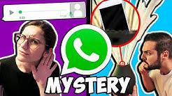 WHATSAPP MYSTERY CHALLENGE! Welches Geräusch ist das? Wo ist das Handy versteckt? Game für WhatsApp