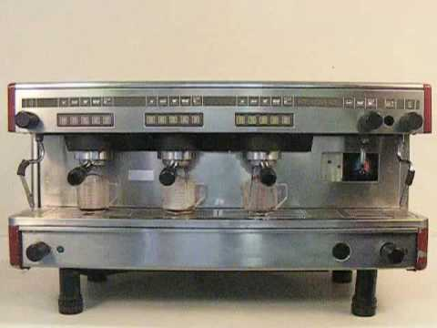 used la cimbali pasquini m27 espresso machine youtube. Black Bedroom Furniture Sets. Home Design Ideas