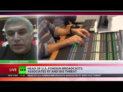 Nabeel Rajab: We may criticize RT, but we should respect their freedom of expression