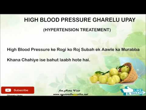 HIGH BLOOD PRESSURE - HYPERTENSION KA DESI ILAJ