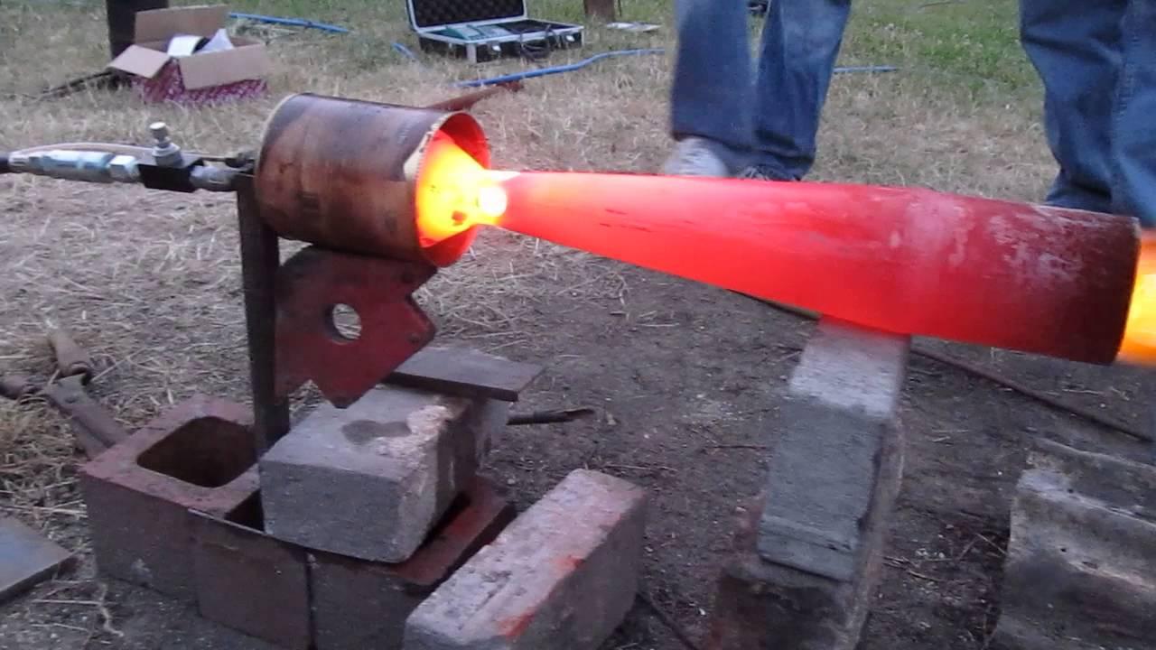 Diy Burner Nozzle 1 Minimum Fuel Flow Youtube