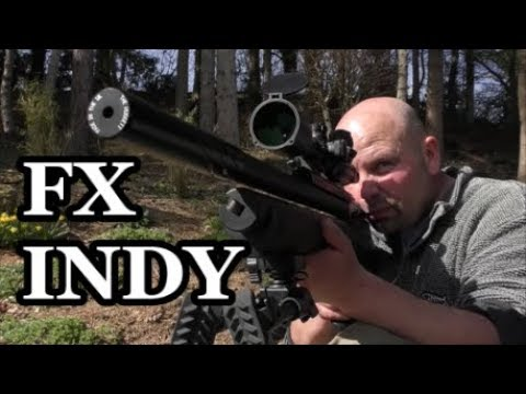 .22 FX Indy Air Rifle (FAC) - Target Shooting in my Lunch Break