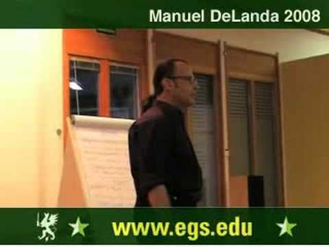 Manuel DeLanda. Materialism, Experience and Philosophy. 2008 4/12