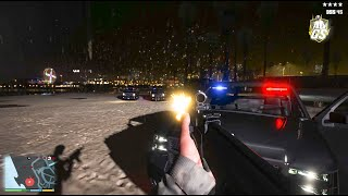 ► GTA 5 - MIDNIGHT SHOOTING GAMEPLAY! ✪ REDUX - Ultra Realistic Graphic ENB MOD PC - 60 FPS