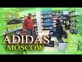 Moscow Black Friday Shoppring in Official Adidas Store