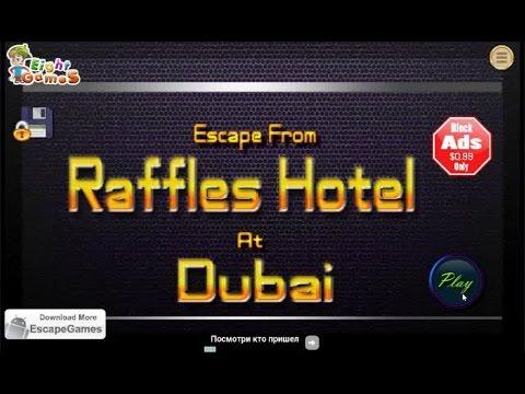 Escape From Raffles Hotel At Dubai  EightGames walkthrough..