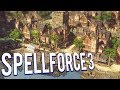RTS RPG FUSION RETURNS! HEROES FIGHTING THE UNDEAD - SPELLFORCE 3 CAMPAIGN GAMEPLAY