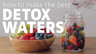 видео 5 DETOX WATER RECIPES