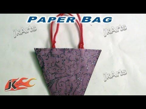 DIY How to make Easy Paper Bags - JK Arts  262
