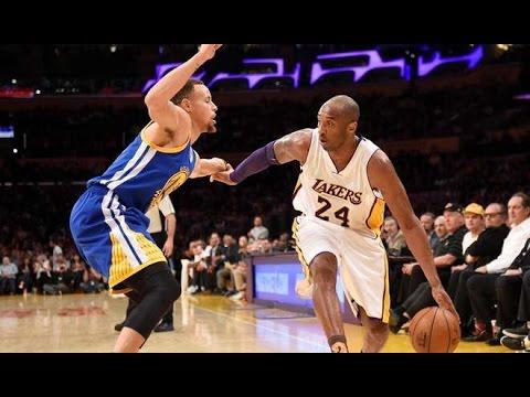 Kobe Bryant se come a Stephen Curry en su último duelo contra los Warriors
