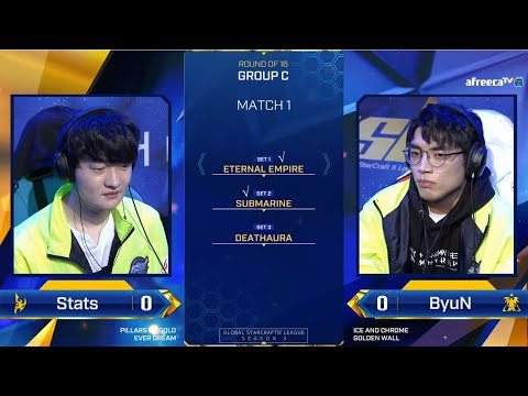 [2020 GSL S3] Ro.16 Group C Match1 Stats vs ByuN