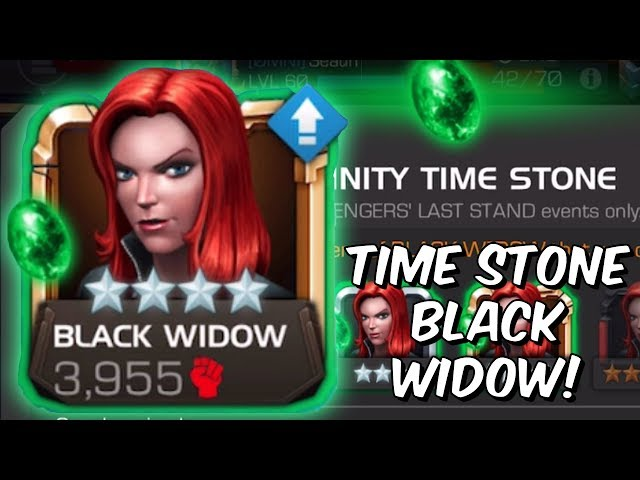 Last Stand: Save The Battlerealm Epic - Time Stone Black Widow - Marvel Contest of Champions