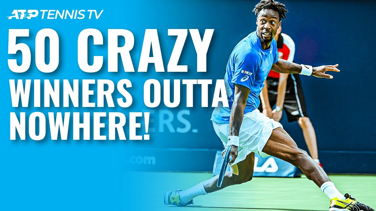 50 Crazy Tennis Winners That Came Out of Nowhere!