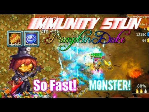 MASTER PD Skill 12 Gameplay Immunity Stun INSANE - Castle Clash