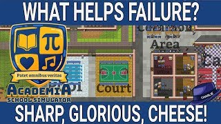 ADDING ENERGY CHEESE TO FAILURE - Academia School Simulator Gameplay - 09 - Let's Play