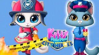 Play Fun Pet Kitten Rescue Kids Game - Kitty Meow Meow City Heroes