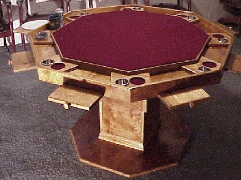 Octagon Game Table - YouTube