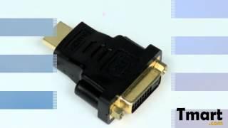 2.88 DVI (24+1) Female to HDMI Male Converter Adapter-81006103