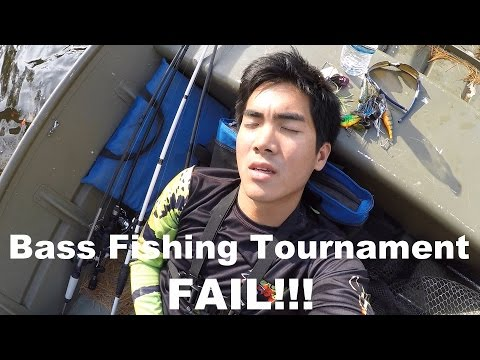 WORST BASS FISHING TOURNAMENT OF MY LIFE!!!!