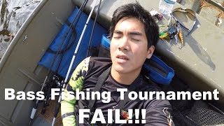 worst bass fishing tournament of my life