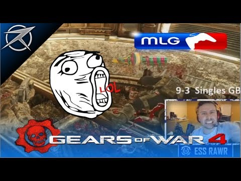 Ess Rawr Gears of War 4 MLG Singles Highlights, Funny Moments & Gameplay #3