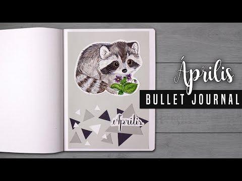 Bullet Journal [MAGYAR] 2018 Április | Kihívás Victorie-val!