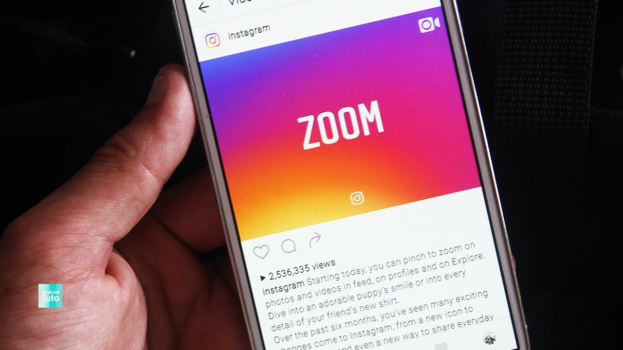 [how To] Zoomin Instagram Photos & Videos €� On Android