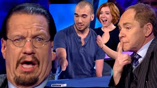 Penn and Teller: Fool Us | Mahdi Gilbert Performs Sleight of Hand without Hands