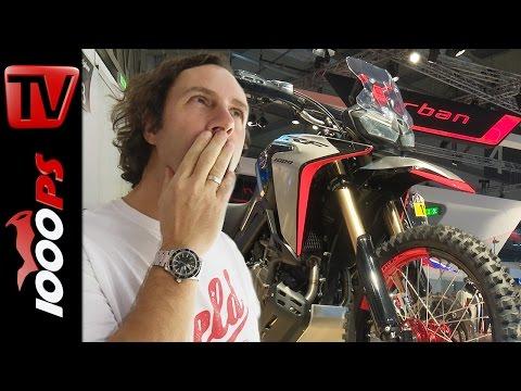 Honda Africa Twin Enduro Sport Concept | Vaulis Motorrad Neuheiten 2017