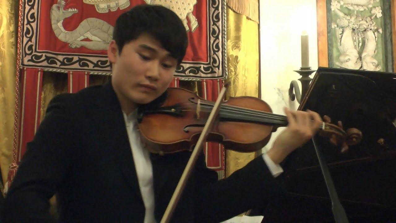 In Mo Yang - Cantabile MS109 (Paganini) - Genoa, 2 October 2015 ...