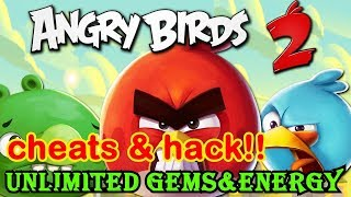 new update Angry Birds 2 MOD Gems and Energy free on android no root