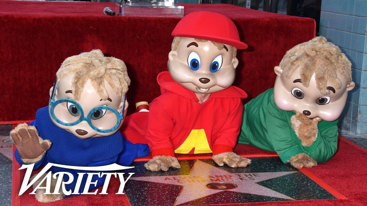 Alvin & The Chipmunks - Hollywood Walk of Fame Ceremony - Live Stream