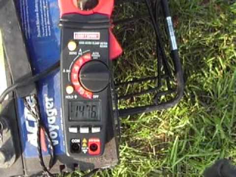 Minnkota 12v 52 Lb Thrust Cur Draw Test